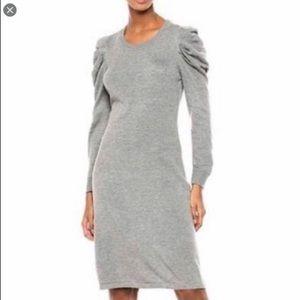 Calvin Klein sz L knit long sleeve sweater dress